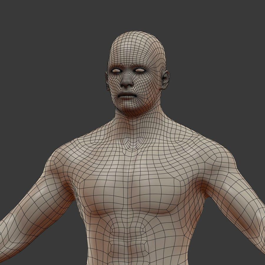 Man 3D royalty-free 3d model - Preview no. 17