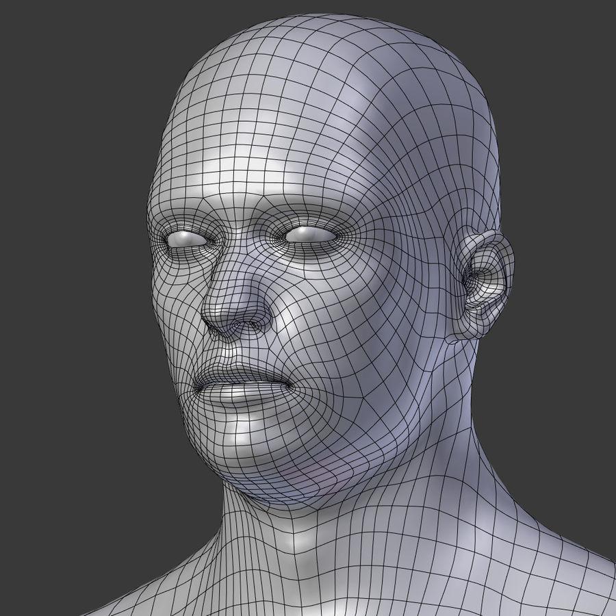 Man 3D royalty-free 3d model - Preview no. 20