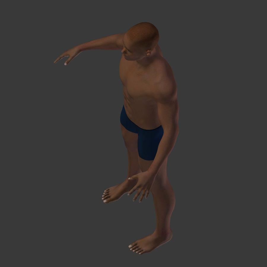 Man 3D royalty-free 3d model - Preview no. 22