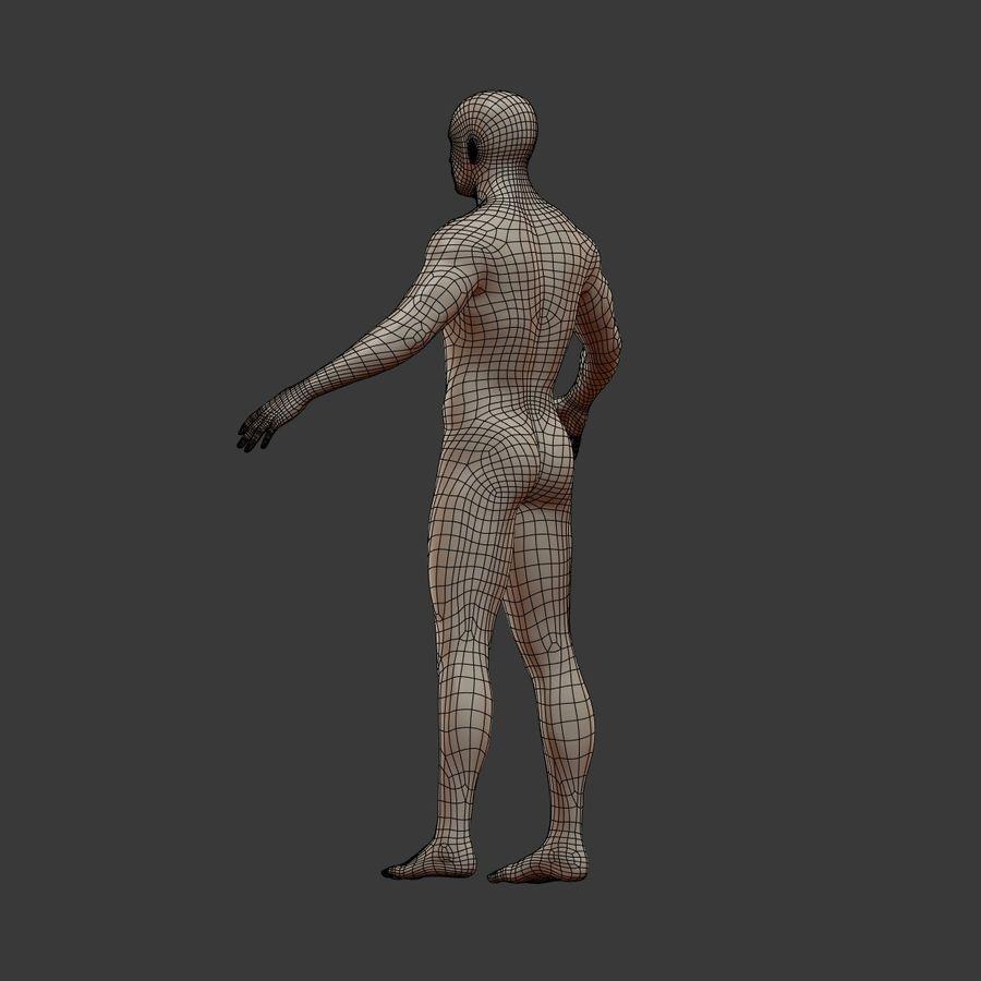 Man 3D royalty-free 3d model - Preview no. 15