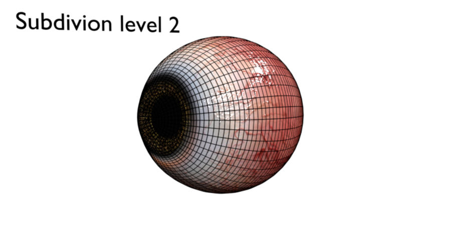 Eye royalty-free 3d model - Preview no. 7