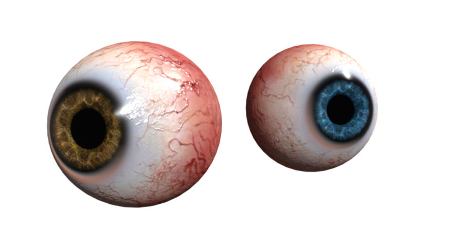 Eye royalty-free 3d model - Preview no. 1