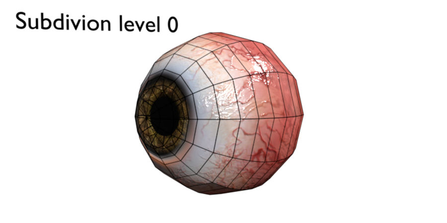 Eye royalty-free 3d model - Preview no. 6