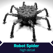 SciFi Robot Spacecraft Spider 3d model