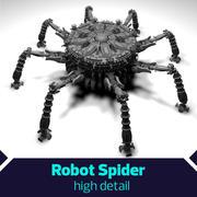 Aranha da nave espacial do robô de SciFi 3d model