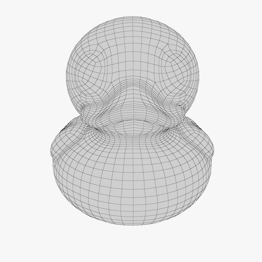Rubber Duck 03 royalty-free 3d model - Preview no. 15
