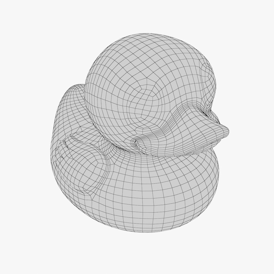 Rubber Duck 03 royalty-free 3d model - Preview no. 12