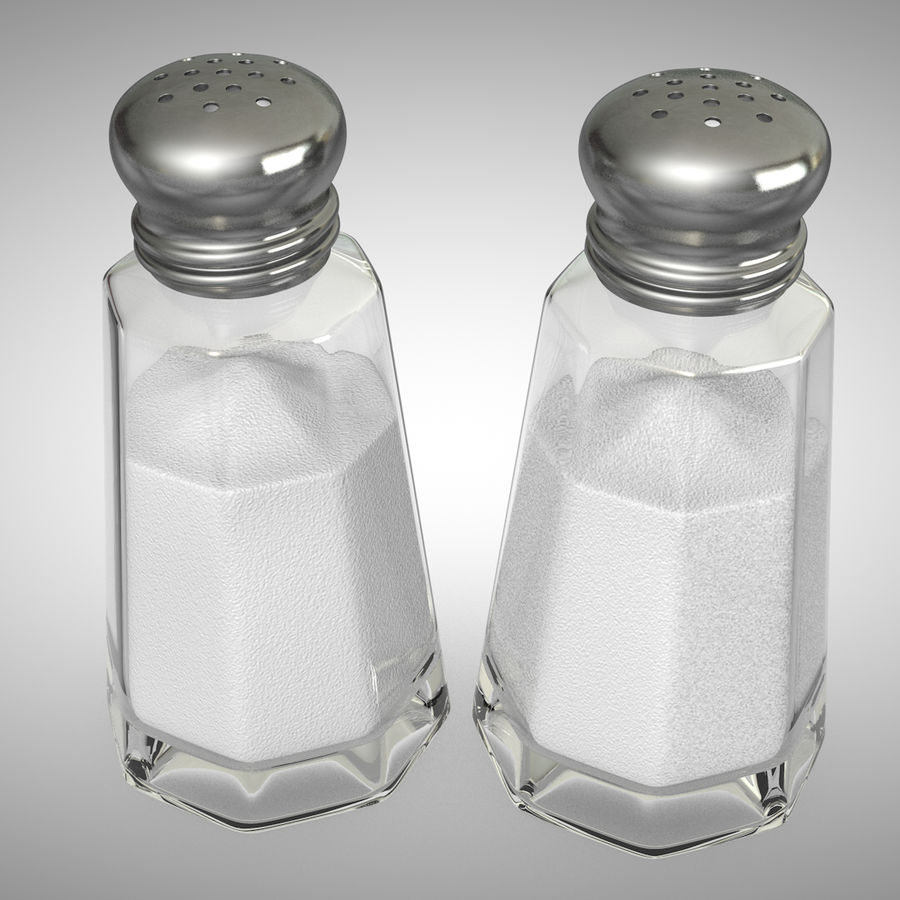 Salt Shaker 3d Model 19 C4d Free3d