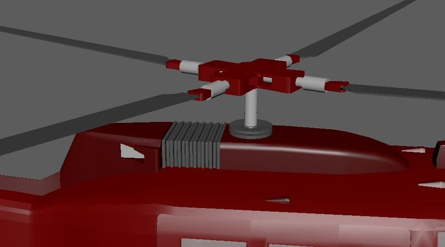 Helicopter royalty-free 3d model - Preview no. 6