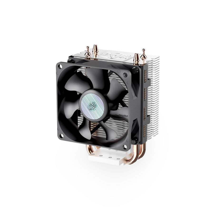 PC cooling fan royalty-free 3d model - Preview no. 1