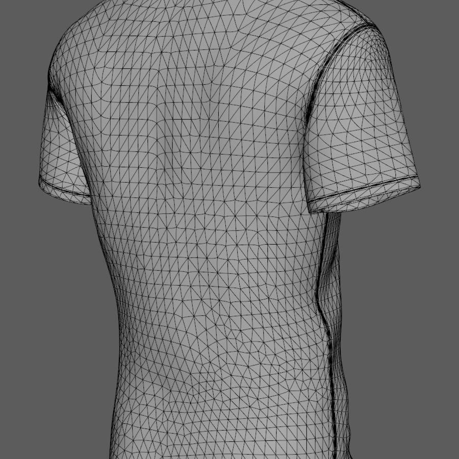 a998e6cb035 Soccer Shirt FC Barcelona 3D Model  15 - .max .fbx .obj .ma - Free3D