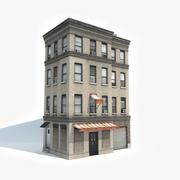 아파트 건물 13 3d model