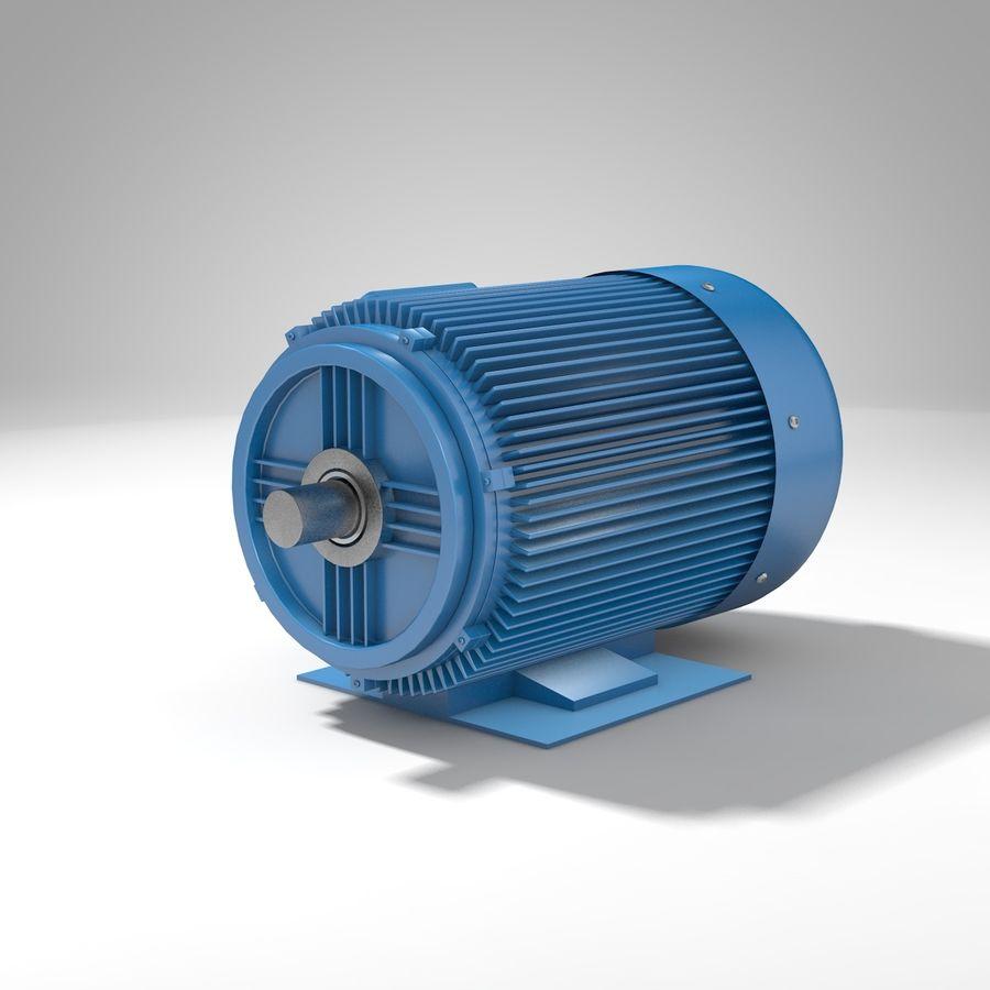 silnik elektryczny royalty-free 3d model - Preview no. 4