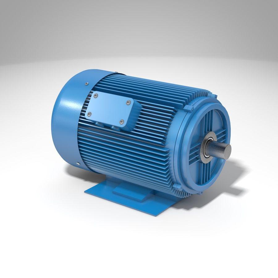 silnik elektryczny royalty-free 3d model - Preview no. 1