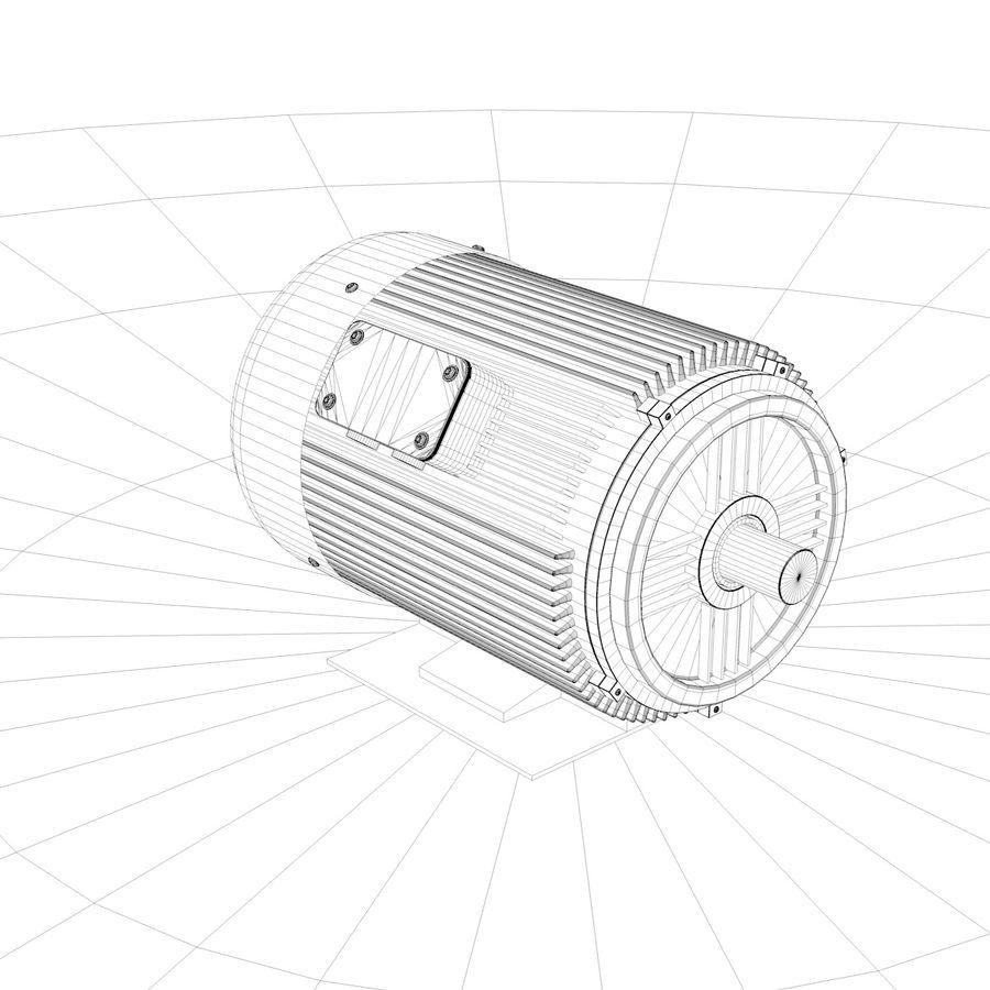 silnik elektryczny royalty-free 3d model - Preview no. 6
