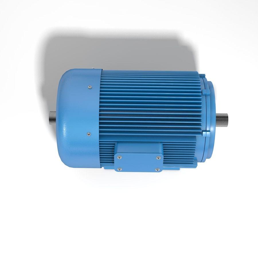 silnik elektryczny royalty-free 3d model - Preview no. 3
