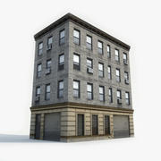 Apartment Building 9 3d model