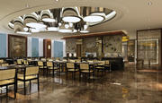 餐厅 3d model