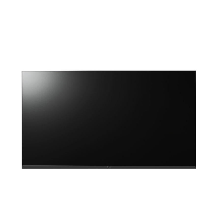 Flat Screen Wall TV royalty-free 3d model - Preview no. 1