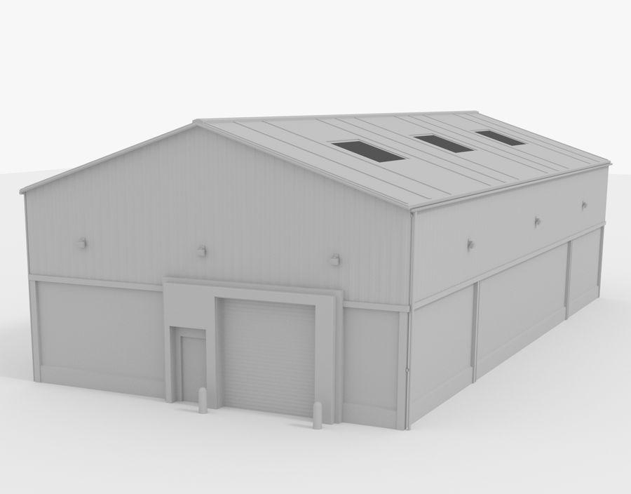 Empilhadeira / Armazém royalty-free 3d model - Preview no. 5