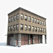 Apartment Building 10 3d Model