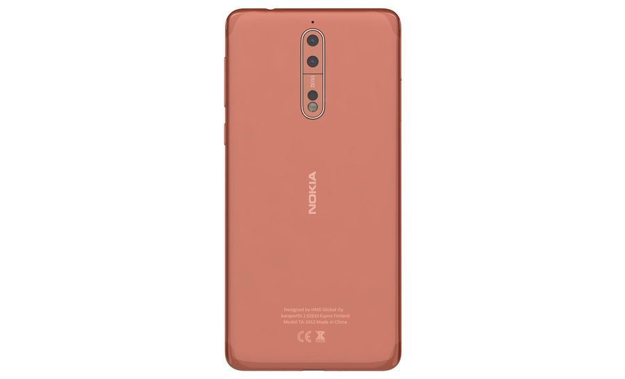 Nokia 8 All Colors royalty-free 3d model - Preview no. 17