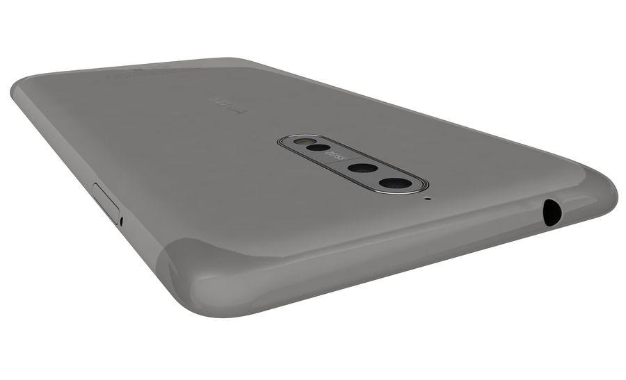 诺基亚8钢铁 royalty-free 3d model - Preview no. 21