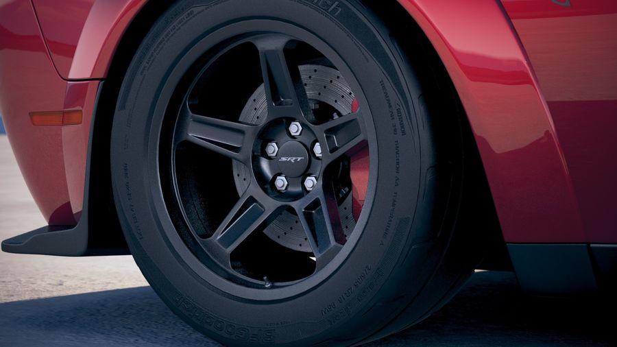 Dodge Challenger SRT Demon 2018 royalty-free 3d model - Preview no. 15