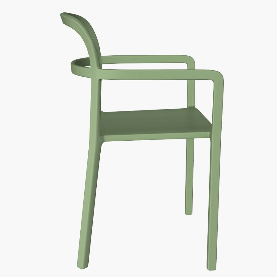 Ikea Ypperlig Chair Royalty Free 3d Model   Preview No. 5