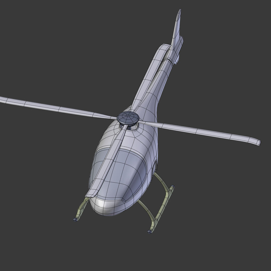 Aircraft_Fantasy_Helicopter royalty-free 3d model - Preview no. 17