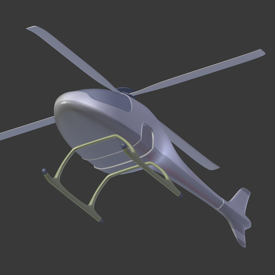 Aircraft_Fantasy_Helicopter royalty-free 3d model - Preview no. 14