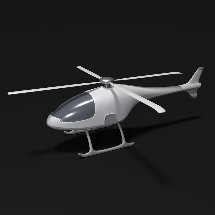 Aircraft_Fantasy_Helicopter royalty-free 3d model - Preview no. 1