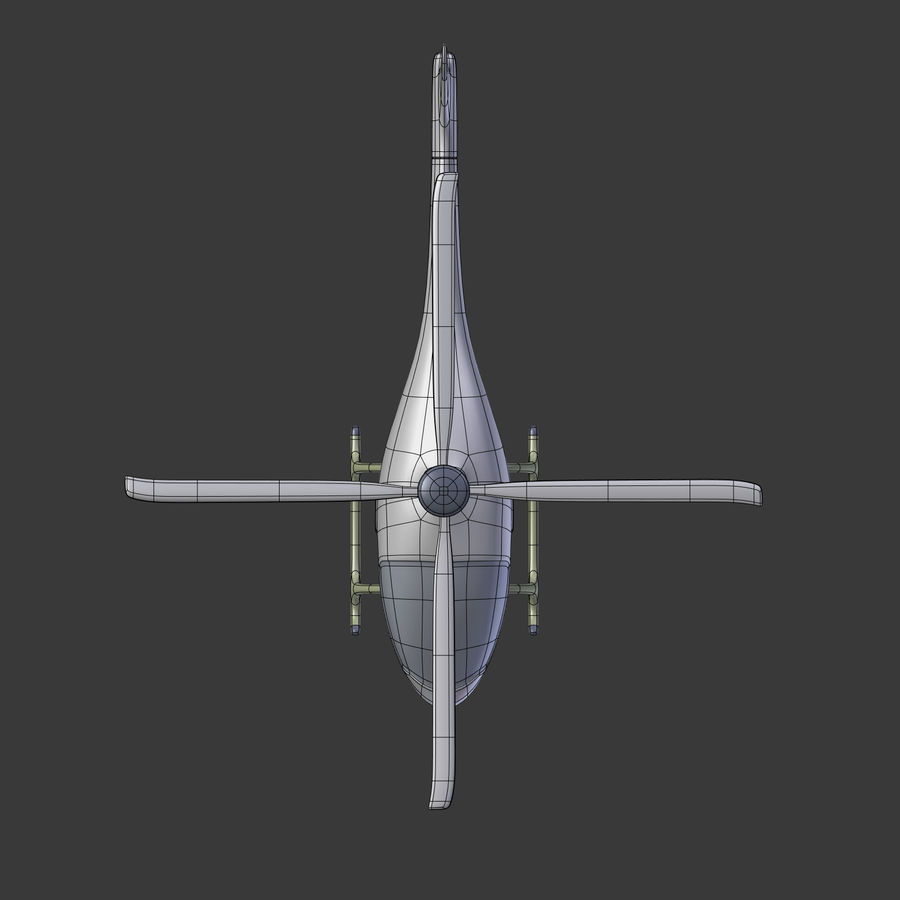 Aircraft_Fantasy_Helicopter royalty-free 3d model - Preview no. 13