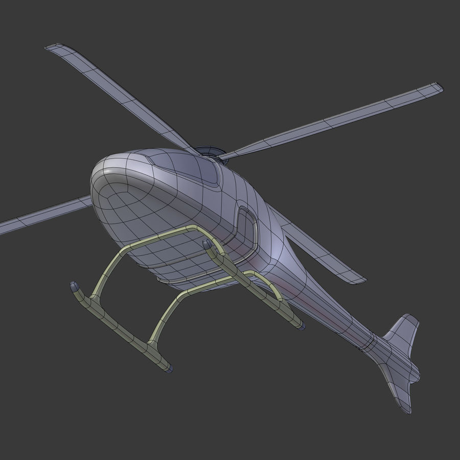 Aircraft_Fantasy_Helicopter royalty-free 3d model - Preview no. 15
