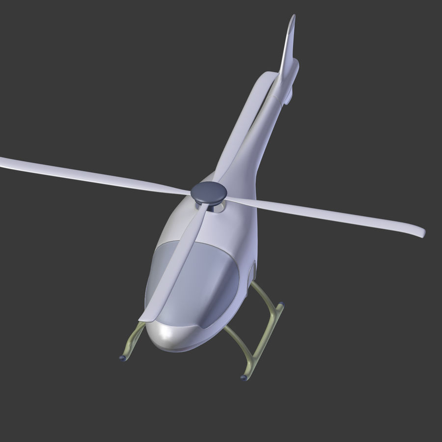Aircraft_Fantasy_Helicopter royalty-free 3d model - Preview no. 16
