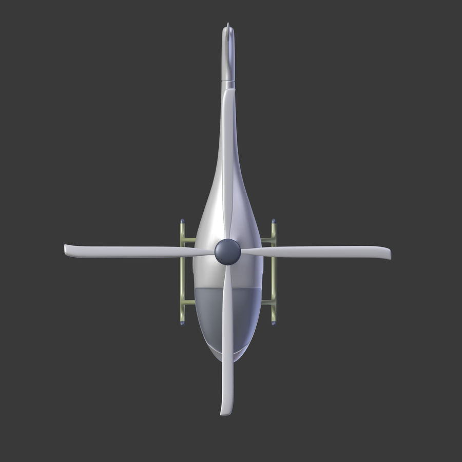 Aircraft_Fantasy_Helicopter royalty-free 3d model - Preview no. 12