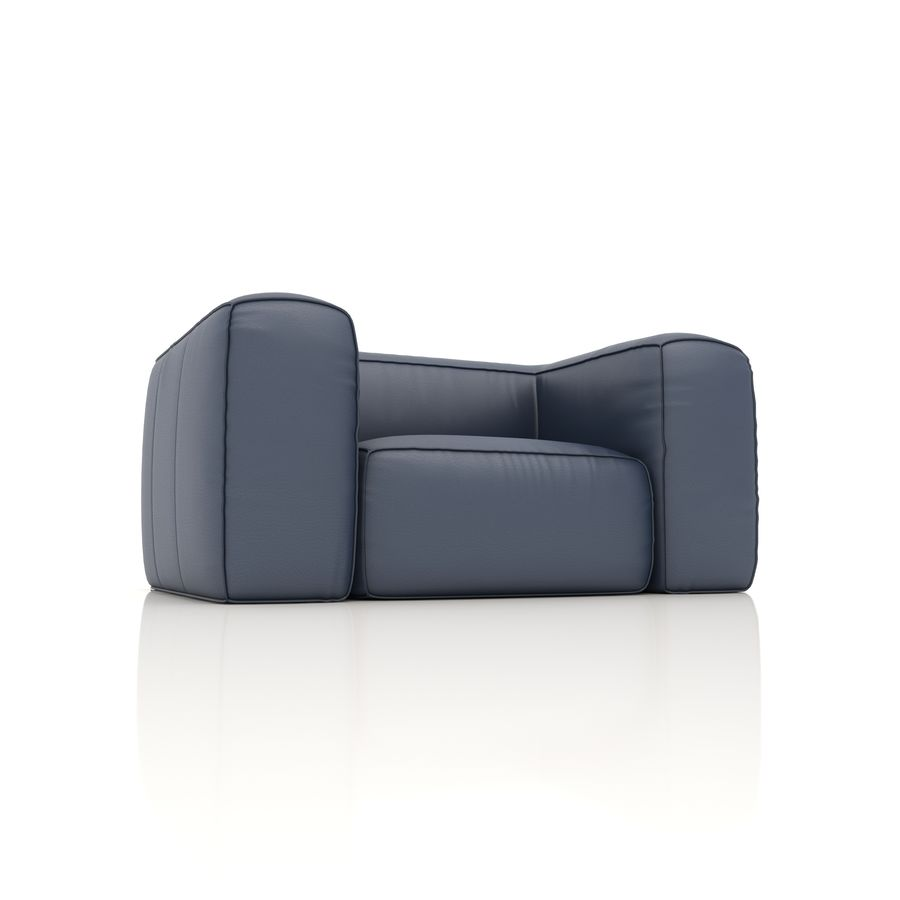 Sofa 6 royalty-free 3d model - Preview no. 2