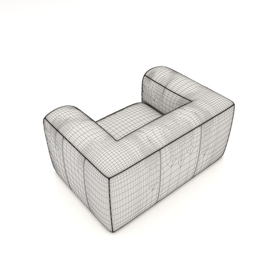 Sofa 6 royalty-free 3d model - Preview no. 6