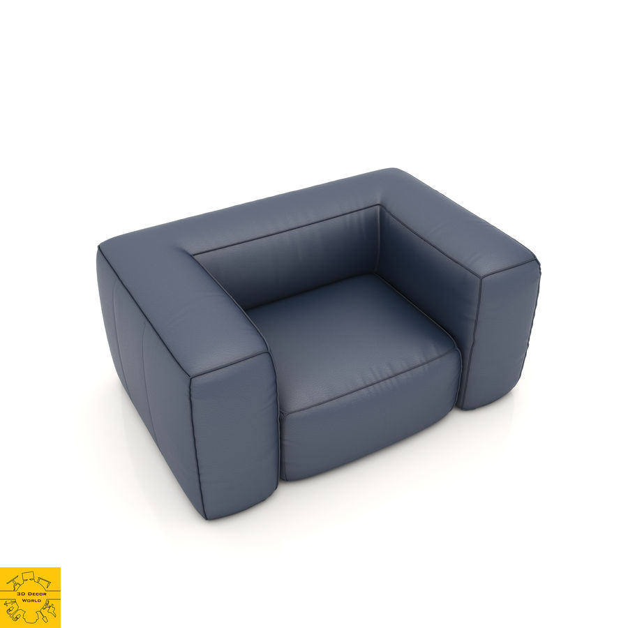Sofa 6 royalty-free 3d model - Preview no. 1