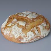 Bread Rustic (Photoscan) 3d model