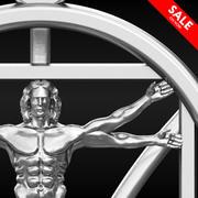 Vitruvian Man 3d model