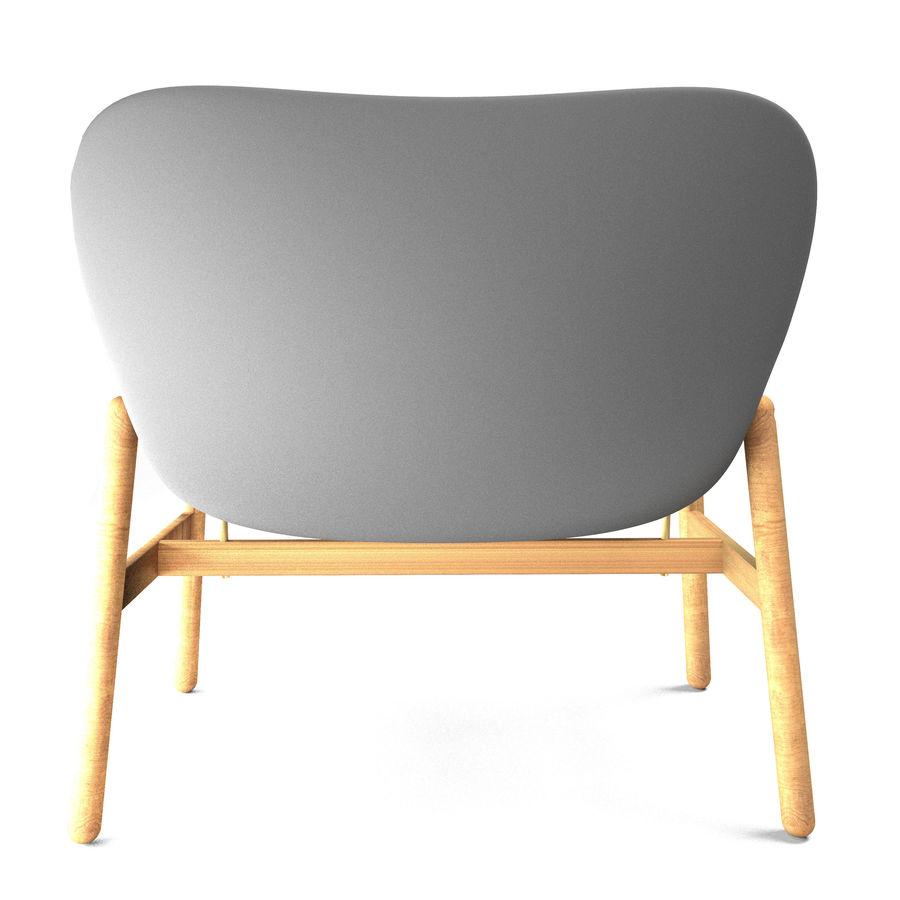 Silla Ikea-Arm royalty-free modelo 3d - Preview no. 5
