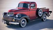 Chevrolet Pickup 1946 3d model