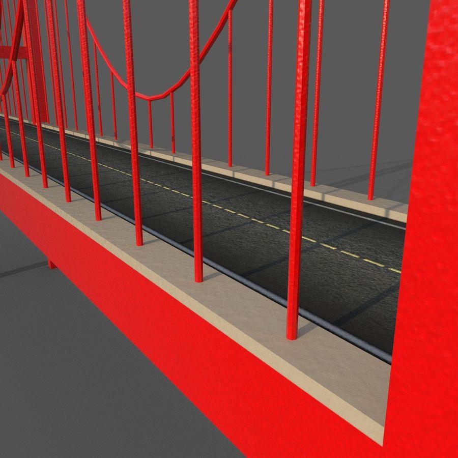 Cartoony Bridge royalty-free 3d model - Preview no. 8
