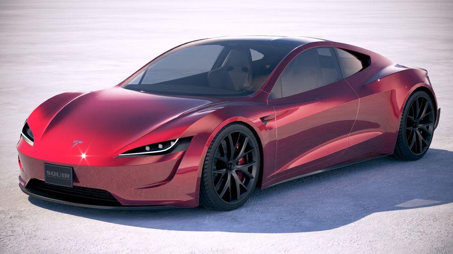 Tesla Roadster 2020 >> LowPoly Tesla Roadster 2020 3D Model $99 - .obj .max .ma .lwo .fbx .c4d .3ds - Free3D