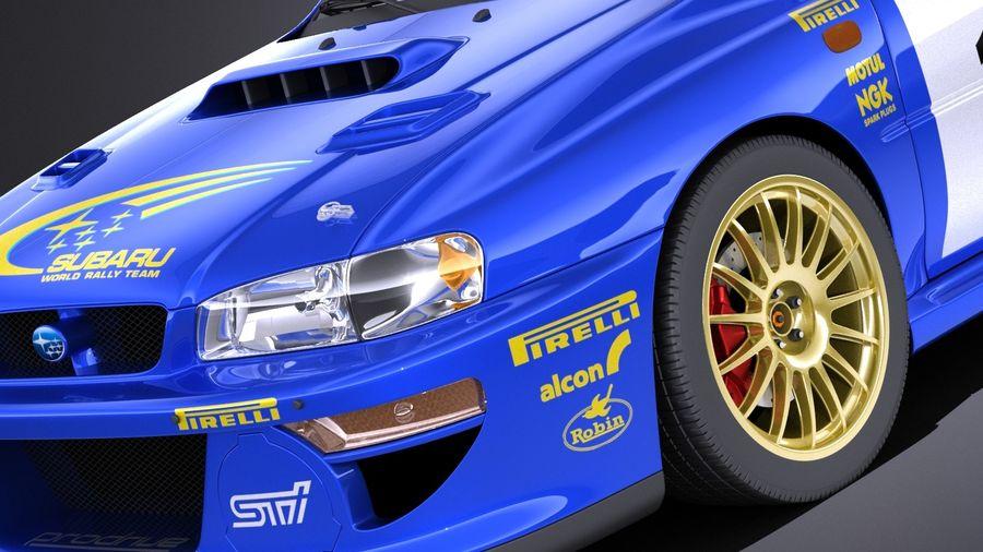 Subaru Impreza STI 22B WRC 1993 2000 VRAY Royalty Free 3d Model   Preview