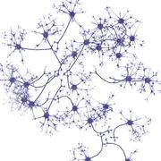 Neurona modelo 3d