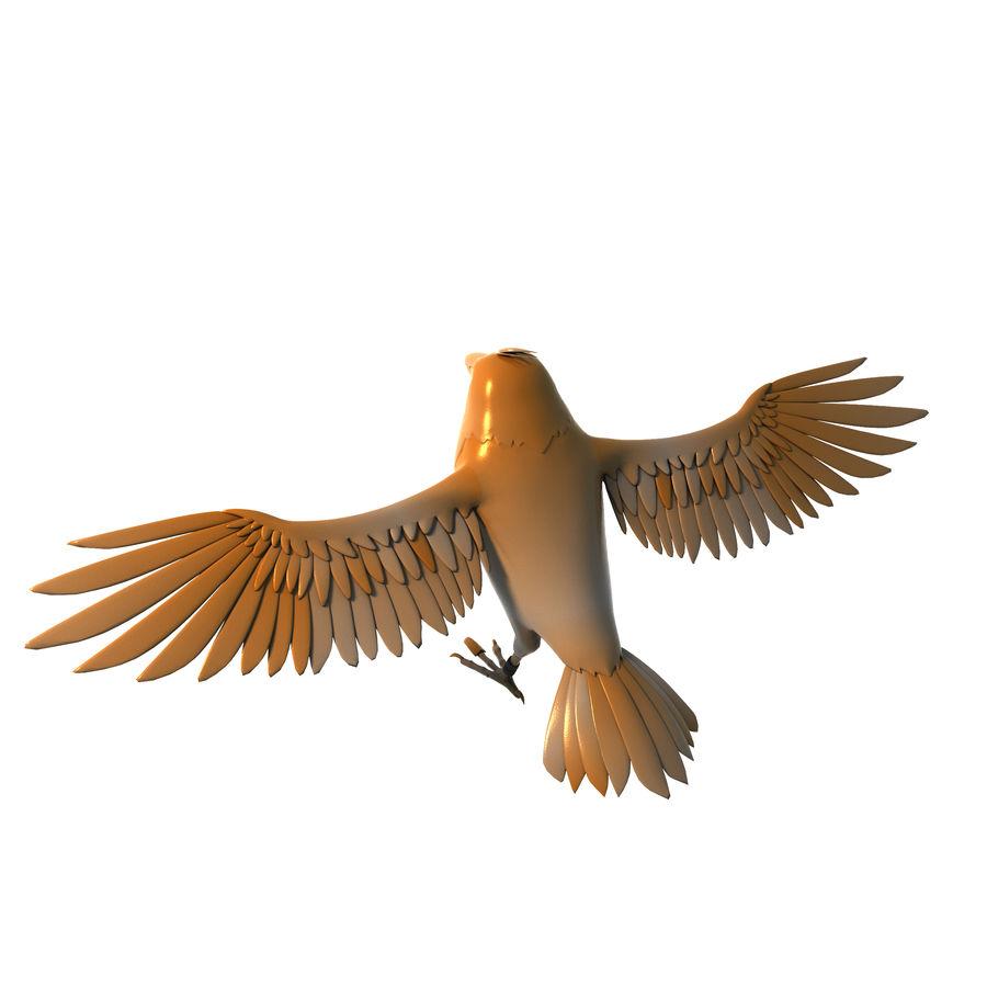 Cartoon Bird royalty-free 3d model - Preview no. 1