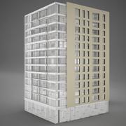 Tower Hotel moden 3d model