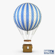 Hot Air Balloon v 2 3d model